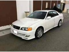 沖縄の中古車 トヨタ チェイサー 車両価格 29万円 リ済込 平成12年 15.3万K ホワイト