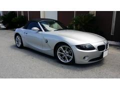 中頭郡北谷町 ALADDIN MOTORS BMW BMW Z4  シルバー 6.0万K 2005年