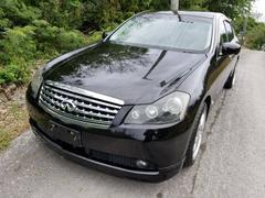 沖縄の中古車 日産 フーガ 車両価格 29万円 リ済込 平成17年 15.2万K ブラック