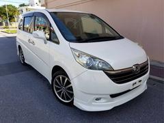 沖縄の中古車 ホンダ ステップワゴン 車両価格 29万円 リ済込 平成17年 11.7万K パールホワイト