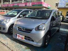沖縄の中古車 ダイハツ ミライース 車両価格 38万円 リ済込 平成25年 8.5万K シルバー