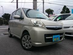沖縄の中古車 スバル ステラ 車両価格 30万円 リ済込 平成19年 8.2万K シャンパンメタリック
