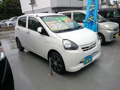 沖縄の中古車 ダイハツ ミライース 車両価格 35万円 リ済込 平成24年 10.8万K ホワイト