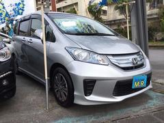 沖縄の中古車 ホンダ フリードハイブリッド 車両価格 129万円 リ済込 平成24年 5.0万K シルバーM