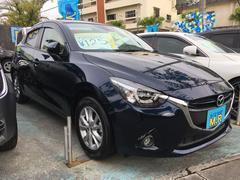 沖縄の中古車 マツダ デミオ 車両価格 125万円 リ済込 平成27年 2.6万K 紺M
