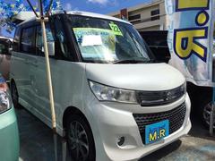 沖縄の中古車 スズキ パレットSW 車両価格 62万円 リ済込 平成22年 7.0万K パールホワイト