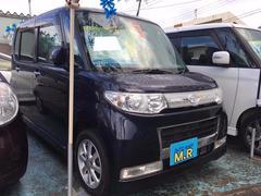 沖縄の中古車 ダイハツ タント 車両価格 39万円 リ済込 平成20年 13.4万K ミスティックブルーマイカアロワナ