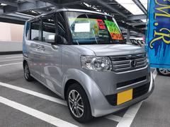 沖縄の中古車 ホンダ N BOX 車両価格 70万円 リ済込 平成25年 8.5万K シルバー