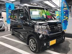 沖縄の中古車 ホンダ N BOXカスタム 車両価格 115万円 リ済込 平成27年 1.4万K ブラック