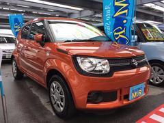 沖縄の中古車 スズキ イグニス 車両価格 105万円 リ済込 平成28年 1.1万K オレンジM