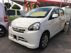 沖縄の中古車 ダイハツ ミライース 車両価格 35万円 リ済込 平成24年 9.2万K ホワイト