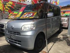 沖縄の中古車 ダイハツ タント 車両価格 49万円 リ済込 平成22年 9.6万K ブライトシルバーメタリック