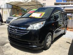 沖縄の中古車 ホンダ ステップワゴン 車両価格 49万円 リ済込 平成20年 10.4万K ブラック