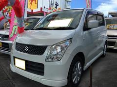 沖縄の中古車 スズキ ワゴンR 車両価格 39万円 リ済込 平成21年 11.3万K パールホワイト