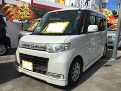 沖縄の中古車 ダイハツ タント 車両価格 49万円 リ済込 平成21年 11.7万K パールホワイトIII