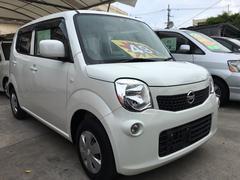 沖縄の中古車 日産 モコ 車両価格 49万円 リ済込 平成24年 9.9万K スノーパールホワイト