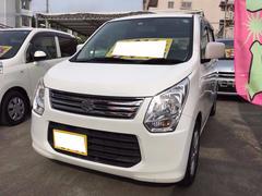 沖縄の中古車 スズキ ワゴンR 車両価格 52万円 リ済込 平成25年 10.4万K スペリアホワイト