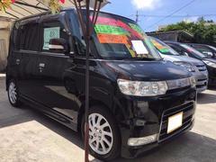 沖縄の中古車 ダイハツ タント 車両価格 45万円 リ済込 平成19年 10.4万K ブラックマイカ