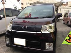 沖縄の中古車 ダイハツ ムーヴ 車両価格 39万円 リ済込 平成21年 10.2万K ミスティックレッドクリスタルメタリック