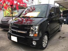 沖縄の中古車 スズキ ワゴンR 車両価格 46万円 リ済込 平成20年 8.1万K スパークブラックパール