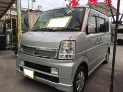 沖縄の中古車 マツダ スクラムワゴン 車両価格 59万円 リ済込 平成20年 11.6万K シルキーシルバーメタリック