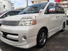 沖縄の中古車 トヨタ ヴォクシー 車両価格 43万円 リ済込 平成19年 10.0万K ホワイトパールクリスタルシャイン