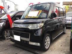 沖縄の中古車 ダイハツ タント 車両価格 49万円 リ済込 平成20年 10.7万K ブラックマイカ