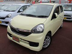 沖縄の中古車 ダイハツ ミライース 車両価格 83万円 リ済込 平成27年 0.3万K コットンアイボリー