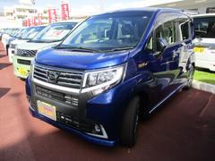 沖縄の中古車 ダイハツ ムーヴ 車両価格 125万円 リ済別 平成27年 0.4万K ディープブルーマイカ
