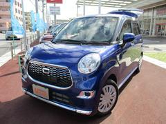 沖縄の中古車 ダイハツ キャスト 車両価格 100万円 リ済込 平成27年 0.5万K ディープブルークリスタルM