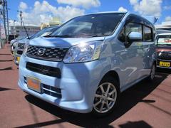 沖縄の中古車 ダイハツ ムーヴ 車両価格 127万円 リ済込 平成28年 0.4万K シルキーブルーパールーM