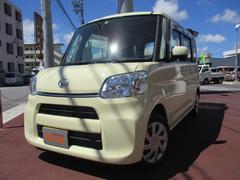 沖縄の中古車 ダイハツ タント 車両価格 112万円 リ済込 平成28年 0.8万K コットンアイボリー