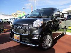 沖縄の中古車 ダイハツ キャスト 車両価格 115万円 リ済込 平成27年 0.7万K ブラックマイカM