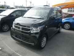 沖縄の中古車 ホンダ N−WGN 車両価格 125万円 リ済別 平成27年 2.7万K ブラック