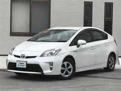 沖縄の中古車 トヨタ プリウス 車両価格 179万円 リ済別 平成25年 3.2万K ホワイトパールクリスタルシャイン
