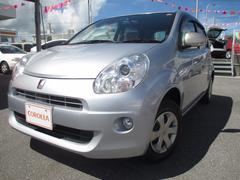 沖縄の中古車 トヨタ パッソ 車両価格 85万円 リ済別 平成23年 2.1万K シルバー