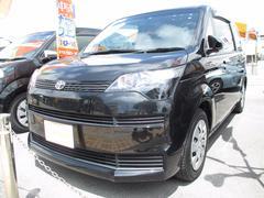 沖縄の中古車 トヨタ スペイド 車両価格 129万円 リ済別 平成26年 2.2万K ブラック