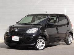 沖縄の中古車 トヨタ パッソ 車両価格 123万円 リ済別 平成28年 0.6万K ブラック