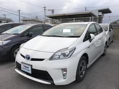 沖縄の中古車 トヨタ プリウス 車両価格 188万円 リ済別 平成26年 3.7万K ホワイト