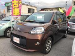 沖縄の中古車 トヨタ スペイド 車両価格 115万円 リ済別 平成24年 3.3万K ブラウン