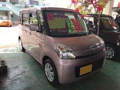 沖縄の中古車 スズキ スペーシア 車両価格 86万円 リ済込 平成25年 5.4万K ピンク