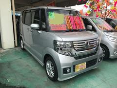 沖縄の中古車 ホンダ N BOXカスタム 車両価格 114万円 リ済込 平成24年 3.2万K シルバー
