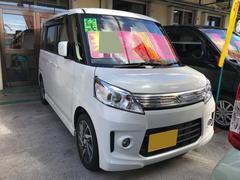 沖縄の中古車 スズキ スペーシアカスタム 車両価格 112万円 リ済込 平成25年 0.4万K パール