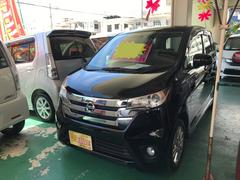 沖縄の中古車 日産 デイズ 車両価格 72万円 リ済込 平成25年 4.8万K ブラックP