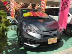 沖縄の中古車 ホンダ フィットシャトルハイブリッド 車両価格 112万円 リ済込 平成26年 6.5万K グレー