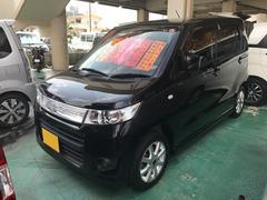 沖縄の中古車 スズキ ワゴンRスティングレー 車両価格 49万円 リ済込 平成22年 8.4万K ブルーイッシュブラックパール3