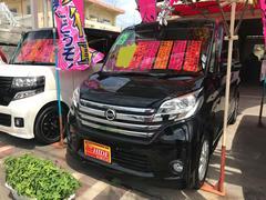 沖縄の中古車 日産 デイズルークス 車両価格 102万円 リ済込 平成27年 4.5万K ブラック