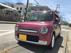 沖縄の中古車 スズキ アルトラパンショコラ 車両価格 77万円 リ済込 平成25年 5.1万K ピンク