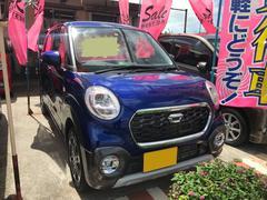 沖縄の中古車 ダイハツ キャスト 車両価格 109万円 リ済込 平成28年 1.0万K ブルー