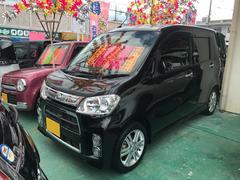 沖縄の中古車 ダイハツ タントエグゼ 車両価格 74万円 リ済込 平成25年 5.5万K ブラック